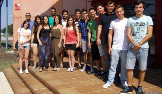 Universitarios este verano en el Céder. / Subdelg