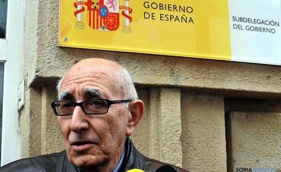 Goyo Alonso, uno de los portavoces de la Soria Ya en una imagen de archivo. / SN
