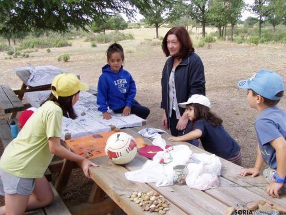Visita al campamento