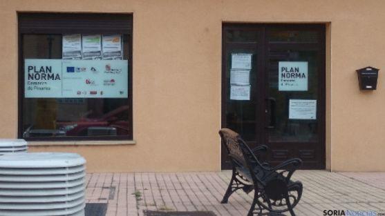 Ofcina del Plan Pinares en San Leonardo