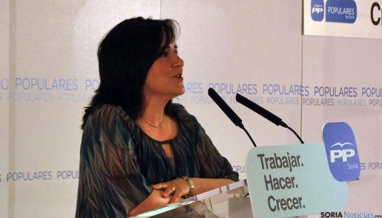 La popular durolense Cristina Rubio. / SN