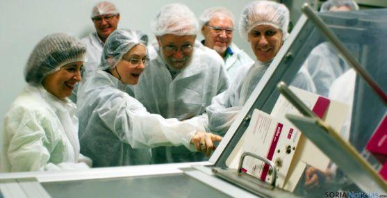 Profesionales de la Medicina Natural en la planta de Garray. / SN