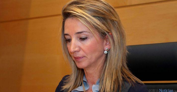 Alicia García, consejera de Familia e Igualdad de Oportunidades.