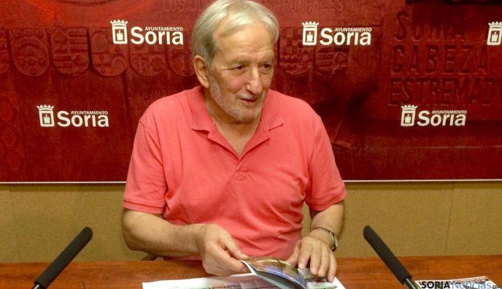 El concejal de Cultura, Jesús Bárez. / Ayto