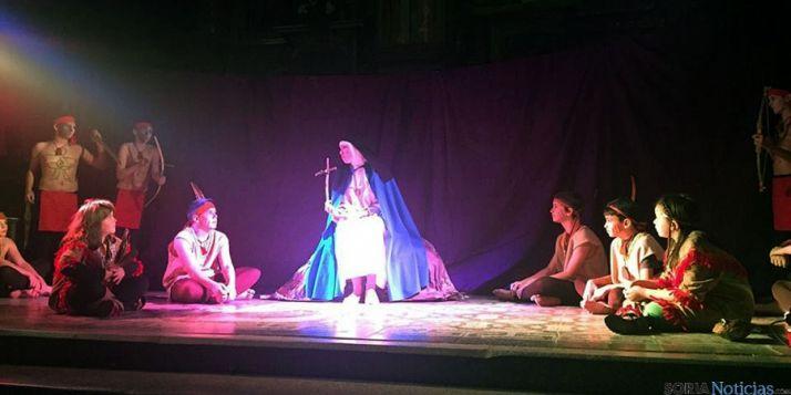 Una de las escenas del teatro.