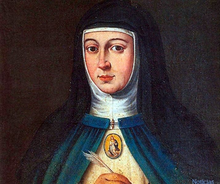 Retrato de Sor María de Jesús.