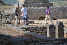 Trabajos en Numancia