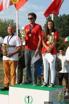 Marcos y Celia campeones de Europa
