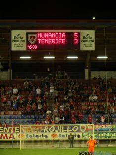 Numancia 6 - Tenerife 3. SN