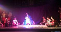 Una de las escenas del teatro en el monasterio agredeño.