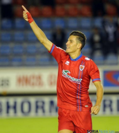 Alex autor del gol 1000 rojillo. LFP