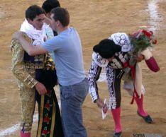 Ruben Sanz en la plaza de Soria
