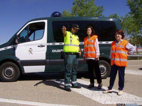 Controles de tráfico realizados en la provicnia de Soria.