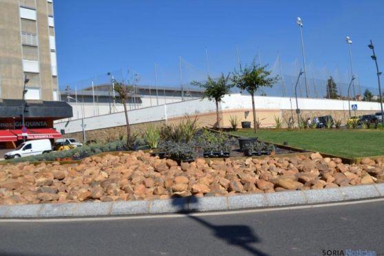 Rotonda de la plaza Odón Alonso