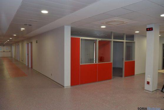 Visita al Complejo Hospitalario de Soria