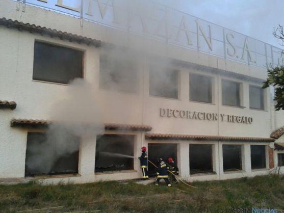 Incendio en Muebles Almazán