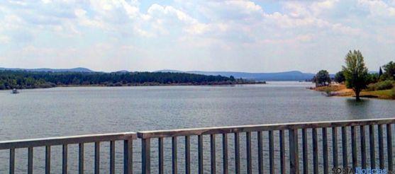 Imagen de archivo del pantano de la Cuerda del Pozo. / SN