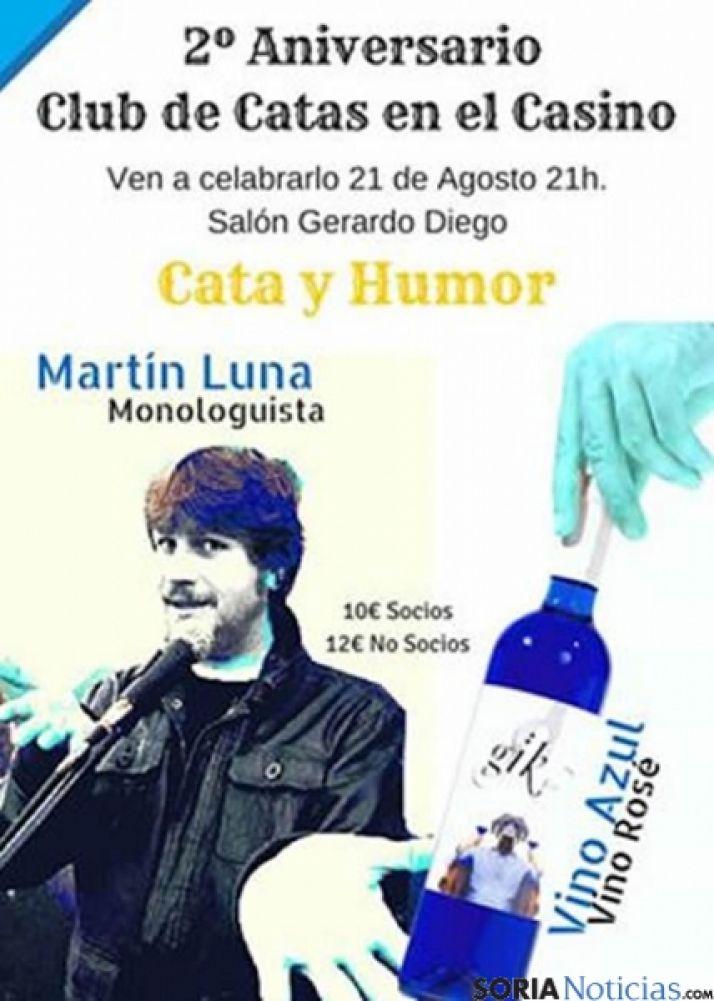 Cartel del 2º aniversario del Club de Catas