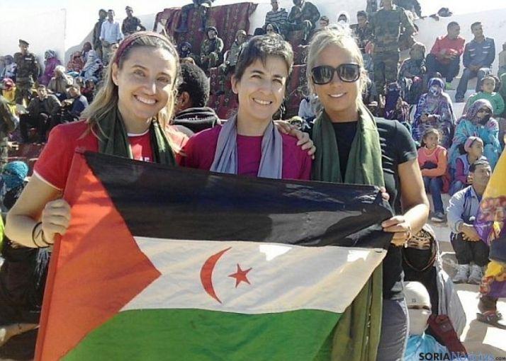 Marta de Diego campeona del Sahara Marathon/Nieves de Diego