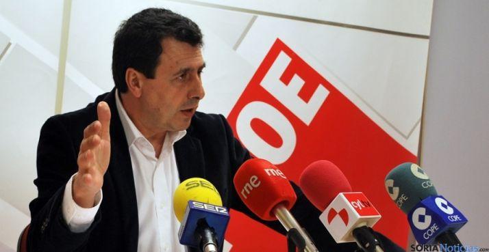 El diputado socialista Félix Lavilla. SN