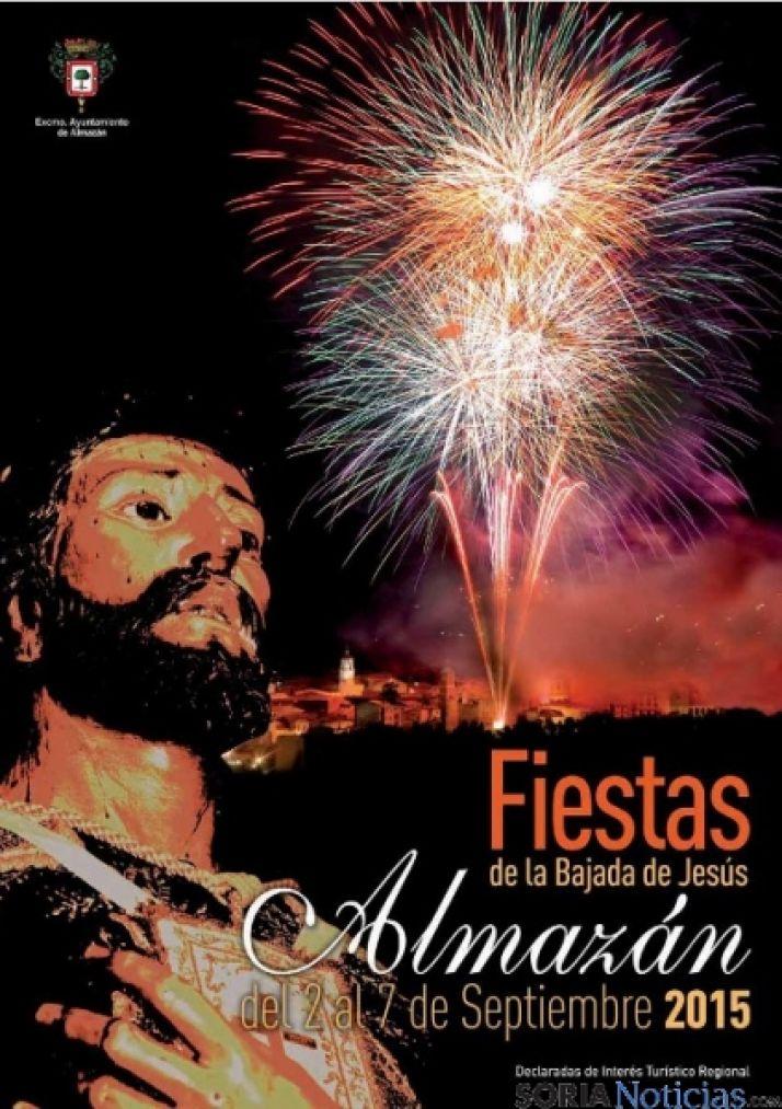 Cartel Fiestas Almazán 2015