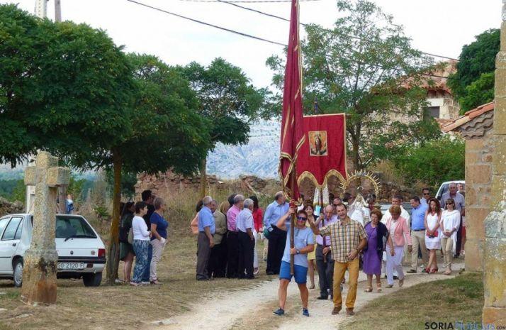 Pedrajas rinde honores a la Virgen de Agosto