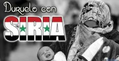 Cartel anunciador de la jornada de Duruelo por Siria