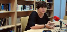 La concejal de Servicios Sociales Ana Alegre este martes. / SN