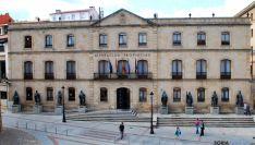 Fachada de la Diputación de Soria./SN