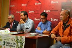 Presentación del tercer Camino por Soria contra el Cáncer