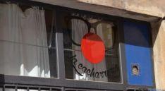 Entrada a la sede de 'La Cacharerría'