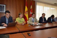 El director general de turismo, Javier Ramírez, en Soria