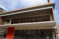 Obras del mercado de abastos en Soria