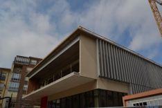 Obras del mercado de abastos de Soria