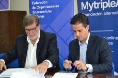 Firma del convenio FOES Mytriple A