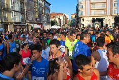 La carrera, que ahora está homologada, ha contado con 600 corredores. / SN en una e