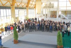 Imagen de la inauguración de la factoría. / SN
