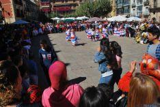 Colores y sol en la plaza Mayor. / SN