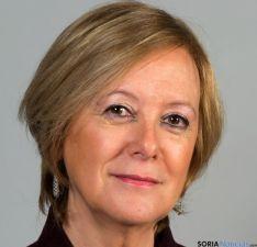 La candidata, María Irigoyen.