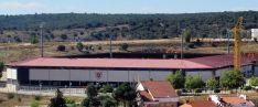 Vista exterior del estadio numantino. / SN