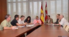 Reunión en la Delegación Territorial