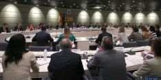 Imagen del consejo sectorial de Inmigración este martes en Madrid.