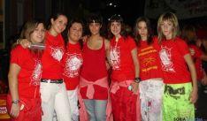 Grupo de jóvenes en fiestas de Arcos