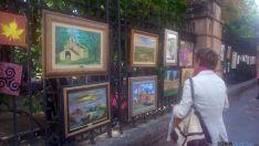 Los pintores sorianos muestran sus cuadros en El Espolón