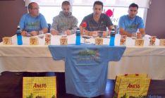 Presentación de las pruebas este martes en el restaurante Trashumante. / SN