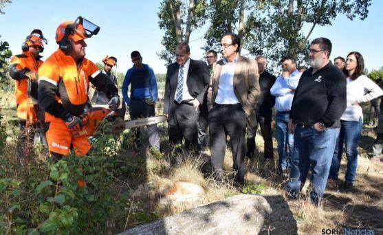 Inauguración curso Escuela de Agrarias en Almazán.