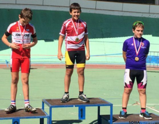 Antonio González, ganador del Campeonato Pista CyL
