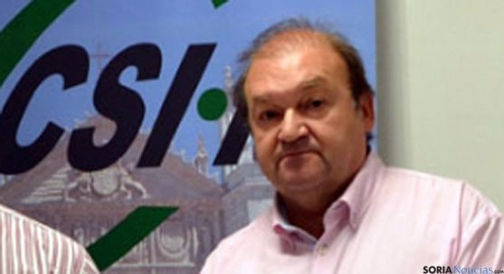 Carlos Hernando, de CSI-F de Castilla y León. / SN