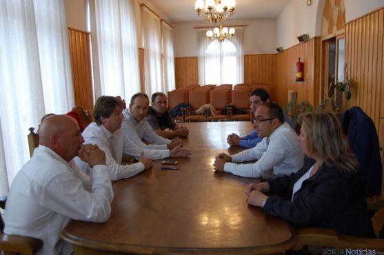 Visita a Santa Inés y reunión