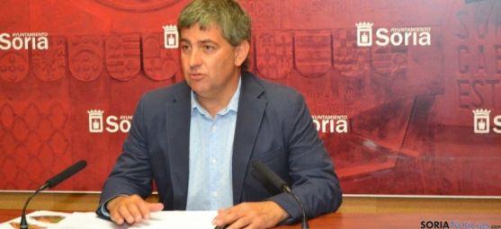 Javier Antón, concejal del Ayuntamiento de Soria